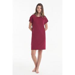 Ночная рубашка Y2019AW0056 красная Yoors Star