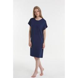 Ночная рубашка Y2019AW0056 синяя Yoors Star