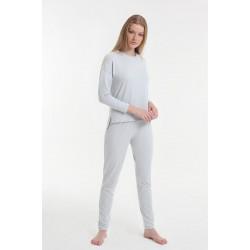 Женская пижама Y2019AW0081 серый Yoors Star