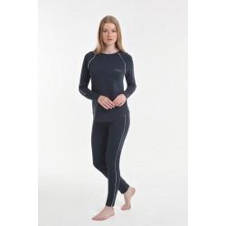 Женская пижама Y2019AW0126 антрацит Yoors Star