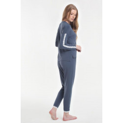 Женская пижама Y2019AW0129 темно синий Yoors Star