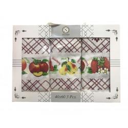 Набор кухонных полотенец Fruit NILTEKS
