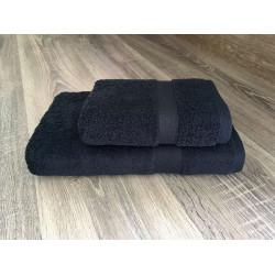 Полотенце махровое Черный